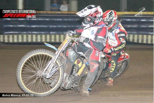 Speedway - Oscar Maurel y Antonio Di Felice, 2° y 3° en la Prefinal.