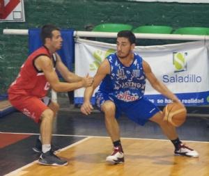 Basquet Provincial - Derrota de Rácing de Chivilcoy - DiPietro 9 puntos