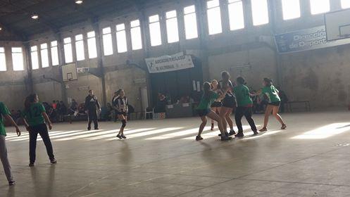 Handball Femenino - Club Sarmiento Sub Campeón de la Copa Ciudad de Pehuajó.