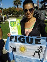 Atletismo - Yani Clair se clasificó segunda en Puán el pasado domingo.