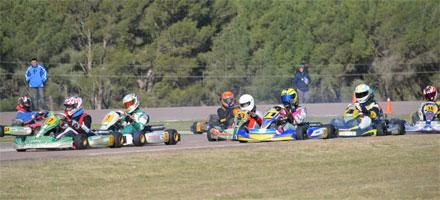 Domingo de Kart en el Autódromo Ciudad de Pigüé