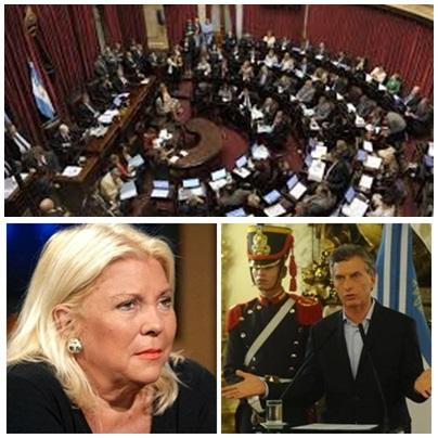 """El Senado de la Nación """"no le saca el pié de encima"""" al proyecto de Ley de Extición de Dominio """"para recuperar bienes de la  corrupción y narcotrafico"""