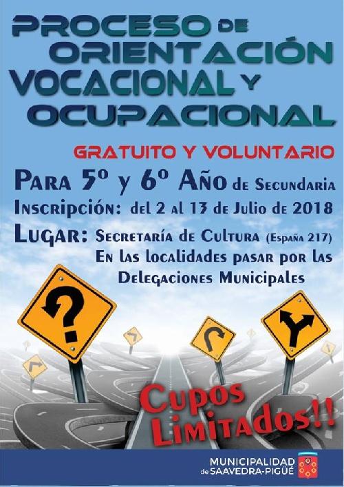 Orientacion vocacional y ocupacional para jóvenes
