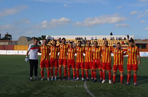 Copa Italia Aficionados - Empate del Isola con Ginobili ante Vigor Lamezia.