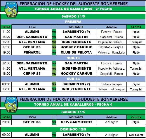 Federación de Hockey del Sudoeste Bonaerense