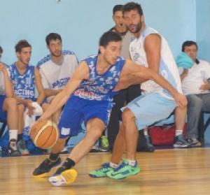 Basquet Federal - Derrota de Rácing de Chivilcoy ante Pilar - 14 puntos de Erbel Di Pietro.