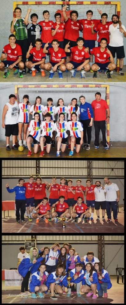 Campeonato Provincial Handball - El Cef 83 Cadetes femenino se proclamó campeón provincial.