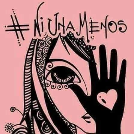 """""""Basta ya de femicidios """"  es el lema de la convocatoria local"""