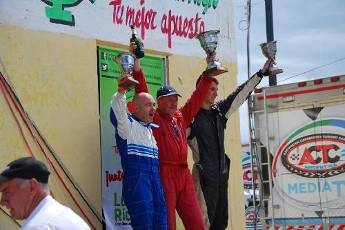 Javier Velázquez ganó la primer final del Gran Turismo de la Comarca en Viedma.