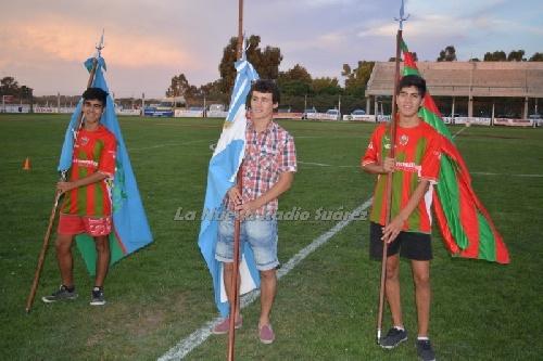 Dio comienzo el Mundialito organizado por Deportivo Sarmiento - Derrota de Unión Pigüé en su debut.