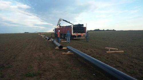 La municipalidad informa sobre el avance de la ampliación del gasoducto para la región