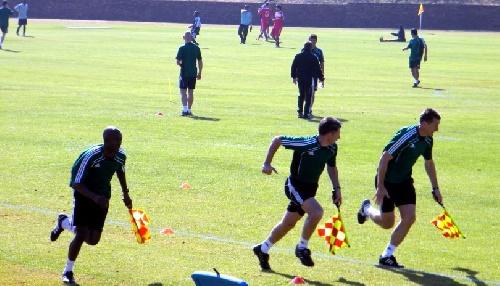 LRF - Reunión del día lunes - Vuelve la Escuela de Arbitros a la Liga Suarense.