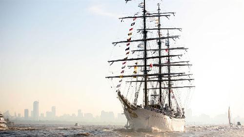 La Fragata Libertad inició su viaje número 46 por los mares del mundo