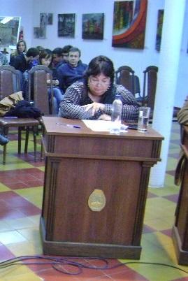 Proyectos de la concejal Guido en la ultima Sesion del HCD
