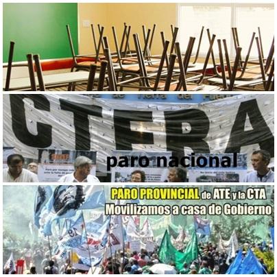 Pigüé: el paro docente en el Distrito convocó entre el 68 y el 62 % en escuelas públicas - Sin adhesión en institutos privados