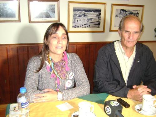 Elecciones en Suteba: Romina del Plá visitó Pigüé y  llamó a los docentes a cambiar la conducción de Baradel en el gremio