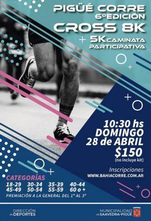 Atletismo - Ya está abierta la inscripción para los 8 k de nuestra ciudad.