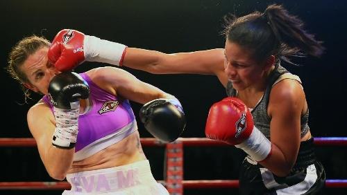Boxeo femenino en Pigüé