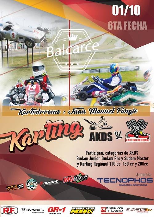 Karting - El kartodromo de Balcarce será el escenario de la 6ta fecha con la presencia de Gomez Fredes
