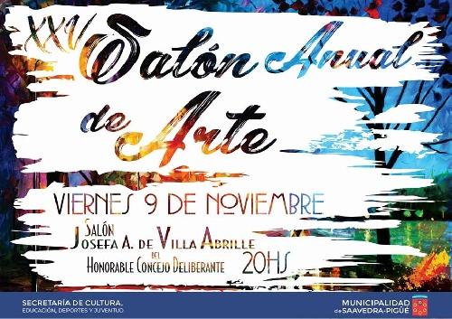 XXV Salón Anual de Arte en Pigüé