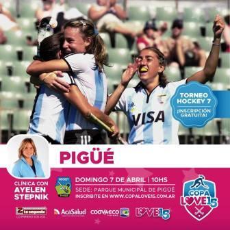 Hockey Femenino - La Copa Love 15 se juega en nuestra ciudad.