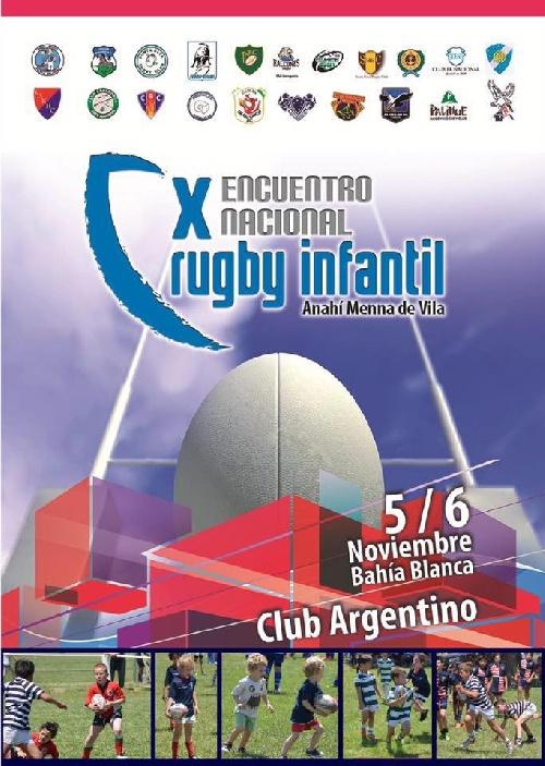 Rugby Infantil - Club Sarmiento participó el pasado fin de semana del torneo Anahí Mena.