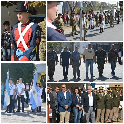Pigüé; actos oficiales por el Dia del Veterano y de los Caídos en la guerra de Malvinas e Islas del Atlántico Sur