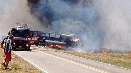 Otro grave accidente en la Ruta Nacional 33 en el que perdieron la vida dos personas