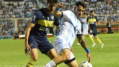 AFA - 1ra División - Atlético Tucumán empata con Boca Juniors - Leo González presente en el decano tucumano.