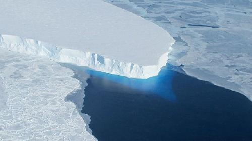 Cambio climático : colapso del glaciar Thwaites, ubicado al oeste del sector antártico argentino