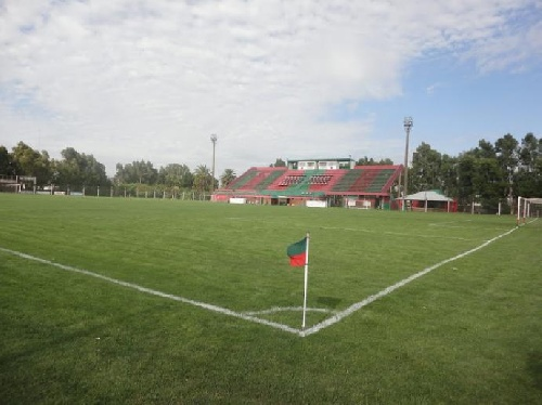 Federal B . La Aprevide suspendió provisoriamente la cancha de Deportivo Sarmiento.