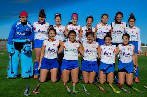 Hockey Femenino - Duelo de pigüenses entre el Cef y Sarmiento- El primero venció en las tres categorías.