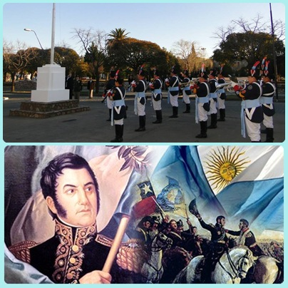 Pigüé: Actos oficiales en conmemoración del centésimo sexagésimo quinto aniversario del fallecimiento del Libertador de América Dn. José de San Martin