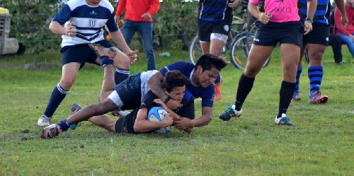Rugby - Club Sarmiento cayó como local ante Pringles Rugby Club.