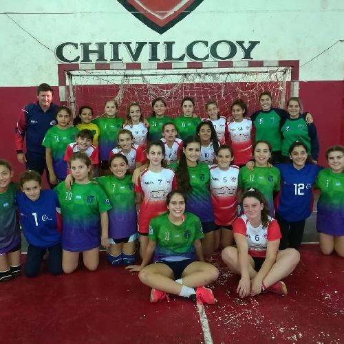 Handball Femenino Infantil - Las chicas del Cef 83 subcampeonas provinciales en Chivilcoy.