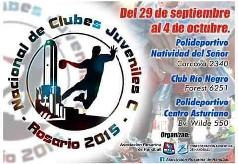 Handball Nacional Juveniles Masculinos - Hoy comienza en Rosario el Campeonato Nacional con la participación del CEF local.