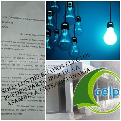 Se realizará la Asamblea Extraordinaria de la Cooperativa Eléctrica de Pigüé solicitada con la firma de los  socios