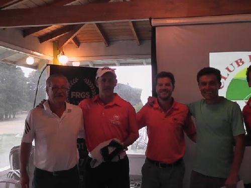 Golf - Marcelo Carceles ganador en la categoría de 10 a 16 en Claromecó.