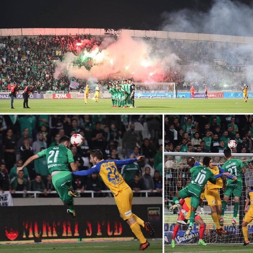 Futbol Chipriota - El Omonia Nicosia cayó como local ante el Apoel - Leo González en el banco no sumó minutos en cancha.