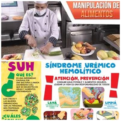 Pigüé: Jornada sobre Síndrome urémico hemolítico y curso de manipulacion de alimentos