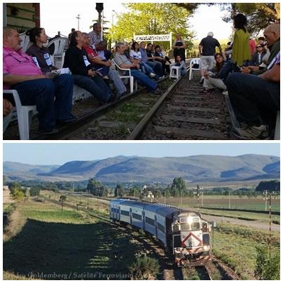 """La Próxima Asamblea  """"Para que Vuelva el Tren"""" será en Saavedra el 10 de Diciembre"""""""