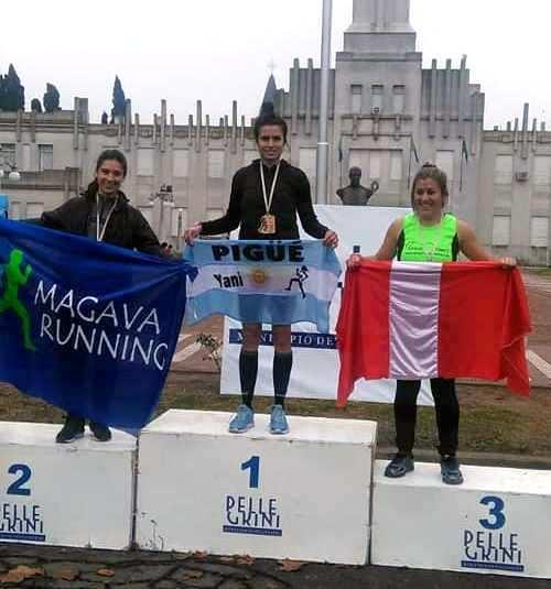 Atletismo - La pigüense Yani Clair se quedó con la victoria en los 5 k de Pellegrini.
