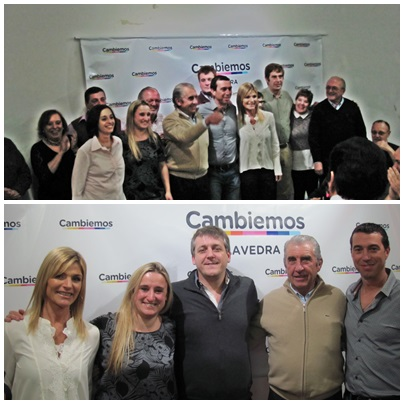 CAMBIEMOS BUENOS AIRES:  CENA DE CIERRE DE CAMPAÑA