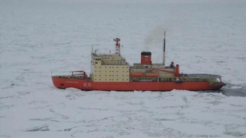 El Irízar regresa a la Antártida diez años después de quedar al borde de la destrucción