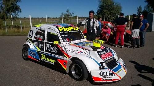 Formula 3CV - Con un primer y un tercer lugar, Bruno González ratificó el campeonato ganado prematuramente.