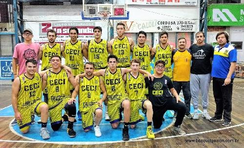 Basquet Santa Fe - Ceci BC con 16 puntos de Biscaychipy, cayó ante Trebolense.