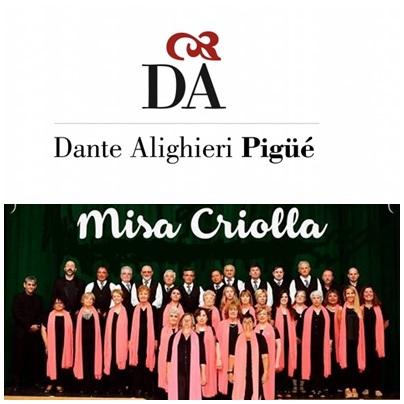 El Coro Issaly interpretará la Misa Criolla  en la Sociedad Italiana