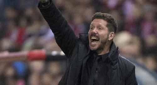 Diego Simeone fue elegido como el mejor entrenador del mundo en el año.