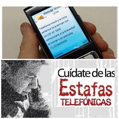 PARTE  DE PRENSA POLICIAL  ALERTA POR INTENTOS DE ESTAFAS TELEFONICAS EN PIGÜÉ