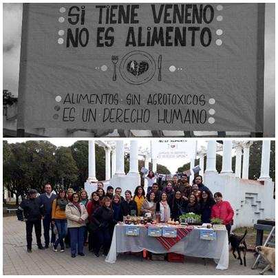 Ambientalistas Autoconvocados de Pigüé realizó el acto local de la marcha mundial contra Monsanto-Bayer